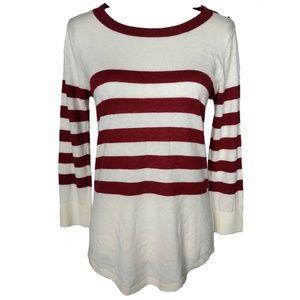 Club Monaco Nautical Wool Sweater size M